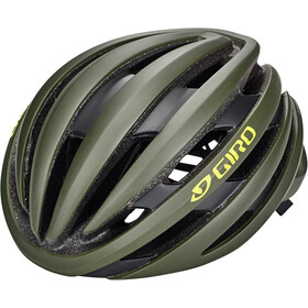 Giro Cinder MIPS Kask rowerowy, matte olive/citron